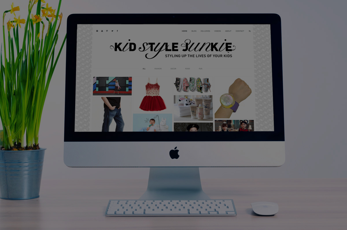 Kids Style Junkie<br>Brand &#038; Website
